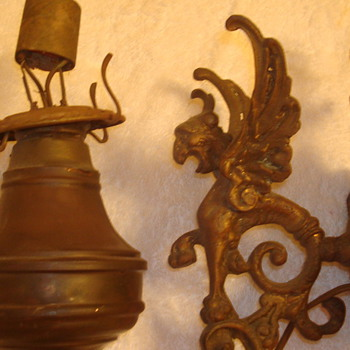 Gargoyle Oil Lamps