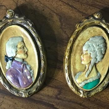Antique Miniature Portraits - Visual Art