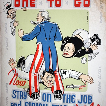 Public Service Posters during WWII