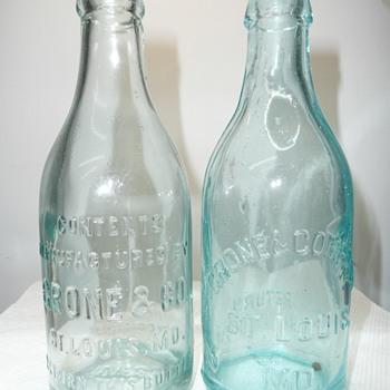Grone & Co Soda Bottles - Bottles