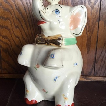 FOUND - Shawnee Gold Trim Elephant