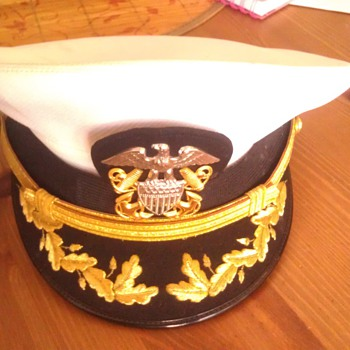 Vintage Vietnam Naval Officers Cap - Military and Wartime