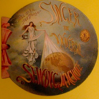 Singer Sewing Machine Brochure 1901 Pan American Exposition New York - Advertising