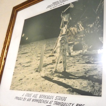 Apollo 11 Mission Framed Photo - Photographs