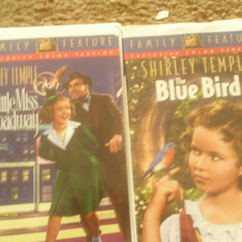 Two more Shirley Temple movies called Little Miss Broadway and Blue Bird  - Electronics