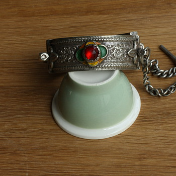 Antique silver Berber bracelet