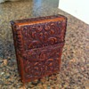 Vintage Leather Cigarette Case