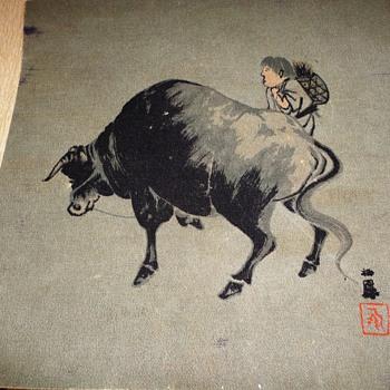 Bull Painting - Visual Art
