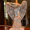 Alabaster Eagle Lamps....