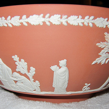 "Wedgwood 8"" Terracotta jasperware bowl - China and Dinnerware"