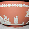 "Wedgwood 8"" Terracotta jasperware bowl"