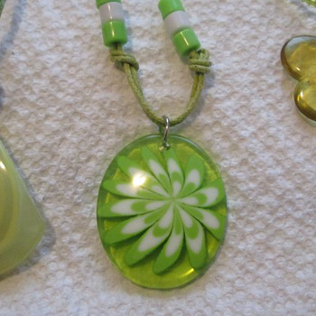 A certain color green - Costume Jewelry