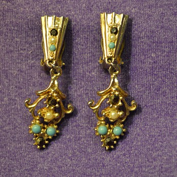 Earrings from my Great-Grandma - Costume Jewelry