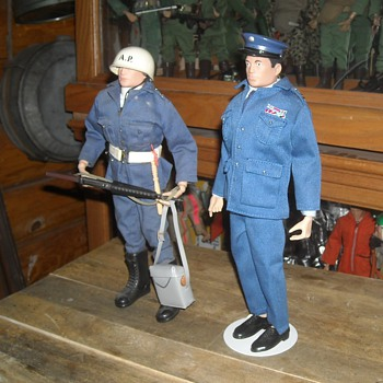 GI Joe Air Police and Dress Uniform - Toys