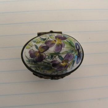 Porcelain Limoges Snuff