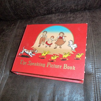 "Vintage Children's Book, ""The Speaking Picture Book"""