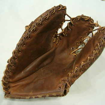 Old Baseball Glove - Baseball