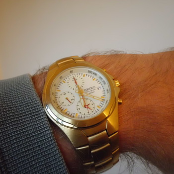 cool Seiko quartz chronograph