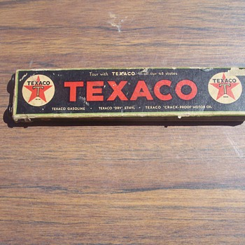 Texaco California Mileage Scroller - Petroliana