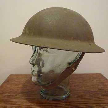 British WWII Home Guard steel helmet - Military and Wartime