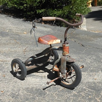 Vintage Tricycle 1950s With Patina/Rust