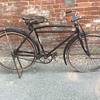 1927 Arnold Schwinn motor bike B10    wood rims