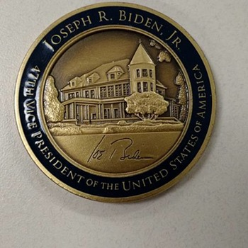 Vice President Challenge Coin