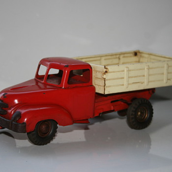 B&S blohm & schuler truck tin toy - Toys