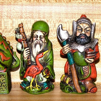 Chinese Mythical Chess Set - Games