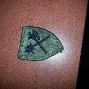 Patch with Morning Star and Midieval Axe?