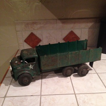 Marx Army Truck  - Toys