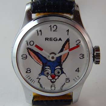 Rega Animated Eyes Bunny Watch - Wristwatches