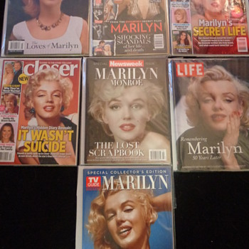 More Marilyn Monroe magazines