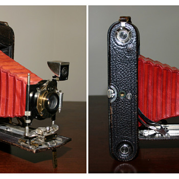Questions about this Kodak camera from the early 1900s