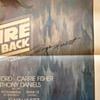 Roger Kastel, signed Empire Strikes Back poster