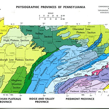Pennsylvania Geologic Postcards