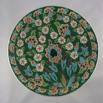 PLATE MID EASTERN TURKEY - Art Pottery