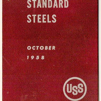 1958 - United States Steel Grading Booklet