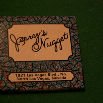 Vintage Jerry's Nugget ~ Las Vegas, Nevada (Very Northend Of the Strip)