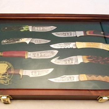 North American Hunting club knife set