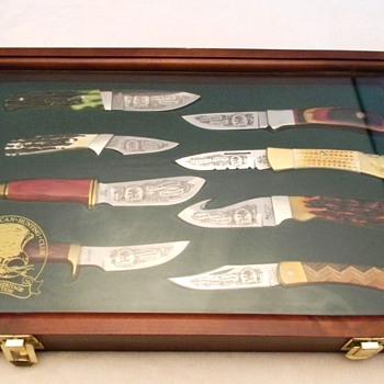 North American Hunting club knife set
