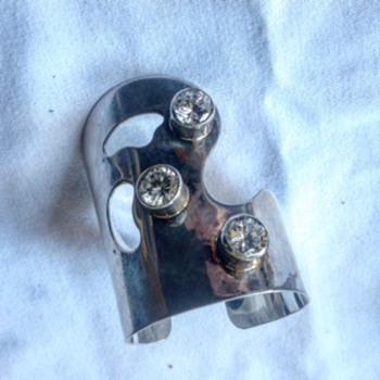 M. Kaye Modernist Bracelet - Sterling Silver