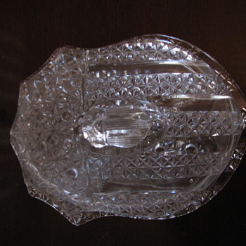 US Shield Glass Dish - Glassware