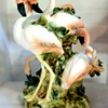 Apulum Fine Porcelaine Flamingo Ornament