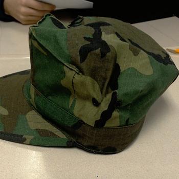Marine core insignia 2 cap