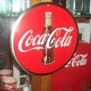 1950's Coca-Cola Celluloid Sign