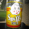 1930's Spiffy Cola A Swell Drink 32 Fl Ozs Quart ACL Soda Bottle General Beverage Co. Detroit Mich.