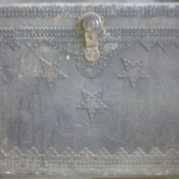 Military alloy trunk - Military and Wartime