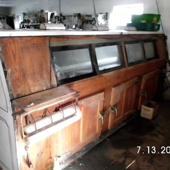 1940's McCray Commercial Meat Cooler - Kitchen
