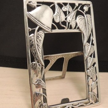 Old Sterling Silver photo frame